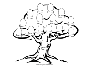 family_tree_coloring_page