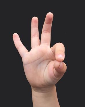 three fingers