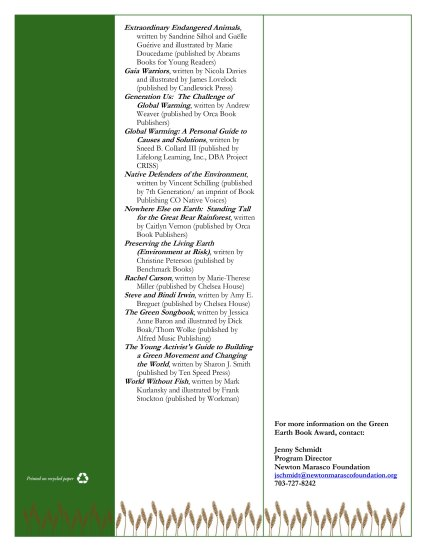 2012 Green Earth Book Award Short List-3